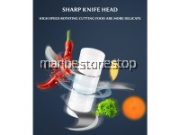 CHOPPING BLADE ONLY FORSR01 250ML 30W Mini Electric Food Chopper 3 Blade RECHARGEABLE FOOD PROCESSOR MINCER