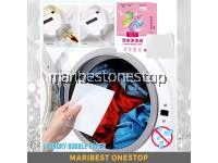30PCS LAUNDRY BUBBLE PAPER Proof Color Absorption Sheet Color Dyeing Proof Laundry Sheet Anti-dye towel cloth