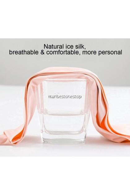 6PCS PER SET WOMEN SEAMLESS ICE SILK PANTIES ULTRA THIN BREATHEABLE RANDOM COLOUR M L XL XXL