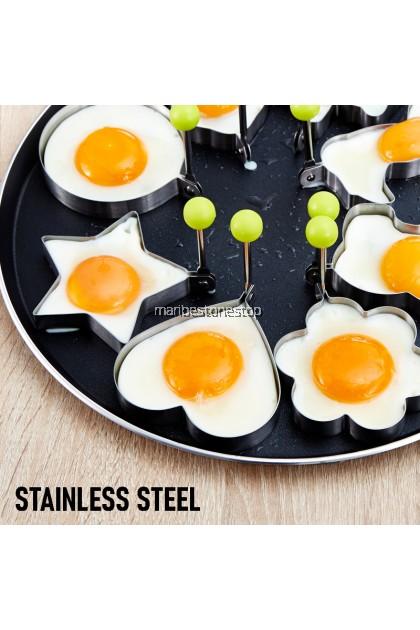1 PC EGG MOLD Stainless Steel Fried Egg Pancake Shaper Ouellette Mould Frying Egg Cooking Tools Fried Egg Mold
