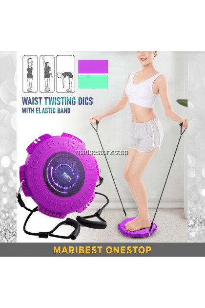 Waist Twisting Plate Home Exercise Fitness Equipment Foot Massage Disc Massage Board Twister Disc 扭腰盘