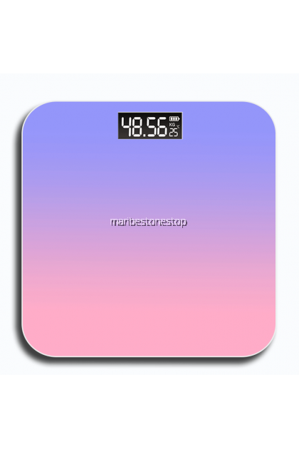 Gradient Color Electronic Body Weight Fat Scale Battery Smart Precise Weighing Scale LCD Display Penimbang Berat体重秤
