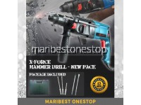 NEW PAC X-FORCE GBH 2-26 26mm 950W 3 Mode Rotary Hammer Drill Free Accessories