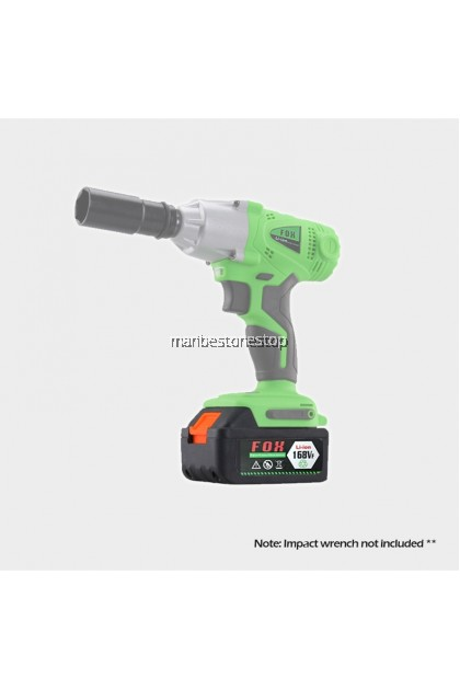 Heavy Duty 520Nm Cordless Impact Wrench Electric Impact Wrench Socket - 1 LI