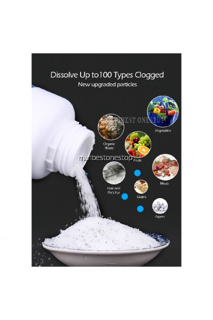 Clog Remover Drain Pipe Basin Cleaner Clogged Drainage Remover Powder 110g