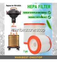 Vacuum Filter Replacement HEPA Filter Compatible for YLW-6263A-12LM Vacuum Air Dust Filter