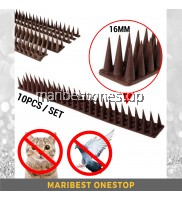 10PCS / SET BIRD SPIKE FLEXIBLE PLASTIC CAT ANIMAL REPELLER CHASE BIRDS REPELLENT DEVICE DASHBOARD ROOFTOP STOP PERCHING